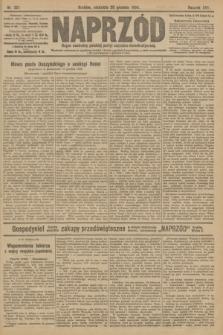 Naprzód : organ centralny polskiej partyi socyalno-demokratycznej. 1908, nr351