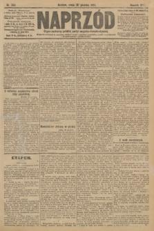 Naprzód : organ centralny polskiej partyi socyalno-demokratycznej. 1908, nr359