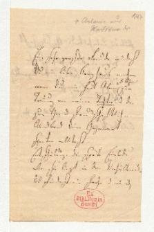 Brief von Unbekannt und Alexander von Humboldt an Heinrich Karl Wilhelm Berghaus