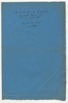 Über die geographischen und geognostischen Arbeiten des Herrn Pentland im südlichen Peru (Manuskripttitel)