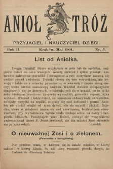 Anioł Stróż : przyjaciel i nauczyciel dzieci. 1901, nr5