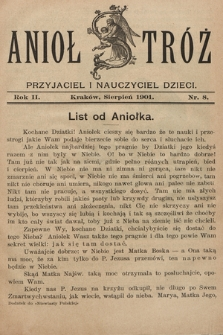Anioł Stróż : przyjaciel i nauczyciel dzieci. 1901, nr8