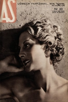 AS : ilustrowany magazyn tygodniowy. 1936, nr20
