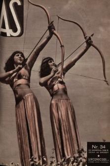 AS : ilustrowany magazyn tygodniowy. 1936, nr34
