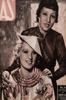 AS : ilustrowany magazyn tygodniowy. 1937, nr4