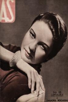AS : ilustrowany magazyn tygodniowy. 1937, nr15