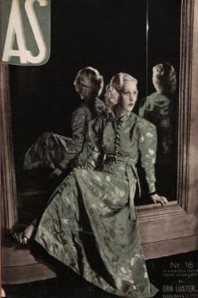 AS : ilustrowany magazyn tygodniowy. 1937, nr16