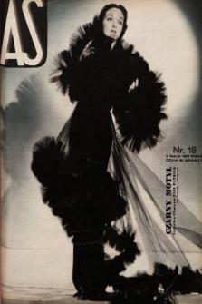 AS : ilustrowany magazyn tygodniowy. 1937, nr18
