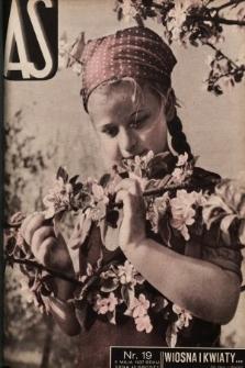AS : ilustrowany magazyn tygodniowy. 1937, nr19