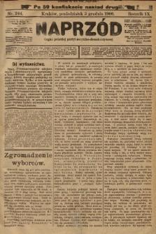 Naprzód : organ polskiej partyi socyalno-demokratycznej. 1900, nr244 (po konfiskacie nakład drugi!)