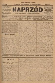 Naprzód : organ polskiej partyi socyalno-demokratycznej. 1900, nr257
