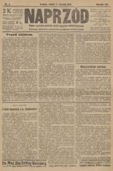 Naprzód : organ centralny polskiej partyi socyalno-demokratycznej. 1912, nr4