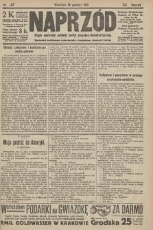 Naprzód : organ centralny polskiej partyi socyalno-demokratycznej. 1912, nr287