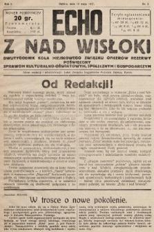 Echo z nad Wisłoki : dwutygodnik Koła Miejscowego Związku Oficerów Rezerwy poświęcony sprawom kulturalno-oświatowym, społecznym, gospodarczym. 1932, nr2