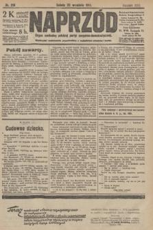 Naprzód : organ centralny polskiej partyi socyalno-demokratycznej. 1913, nr216