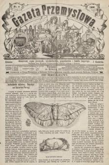 Gazeta Przemysłowa : ilustrowany organ przemysłu, rękodzielnictwa, gospodarstwa i handlu krajowego. 1866, nr6