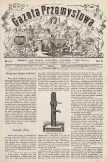 Gazeta Przemysłowa : ilustrowany organ przemysłu, rękodzielnictwa, gospodarstwa i handlu krajowego. 1867, nr94