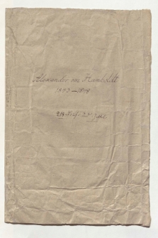 Briefe an Eduard Buschmann [całość]