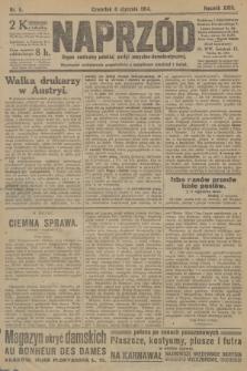 Naprzód : organ centralny polskiej partyi socyalno-demokratycznej. 1914, nr5