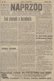 Naprzód : organ centralny polskiej partyi socyalno-demokratycznej. 1914, nr30