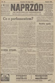 Naprzód : organ centralny polskiej partyi socyalno-demokratycznej. 1914, nr46
