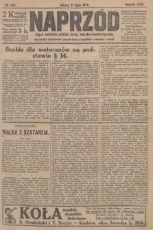 Naprzód : organ centralny polskiej partyi socyalno-demokratycznej. 1914, nr154