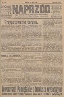 Naprzód : organ centralny polskiej partyi socyalno-demokratycznej. 1914, nr166