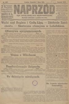 Naprzód : organ centralny polskiej partyi socyalno-demokratycznej. 1915, nr 257
