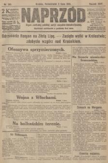 Naprzód : organ centralny polskiej partyi socyalno-demokratycznej. 1915, nr 261