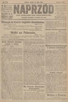 Naprzód : organ centralny polskiej partyi socyalno-demokratycznej. 1915, nr 270