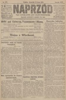 Naprzód : organ centralny polskiej partyi socyalno-demokratycznej. 1915, nr 271