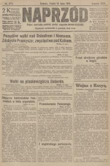 Naprzód : organ centralny polskiej partyi socyalno-demokratycznej. 1915, nr 272