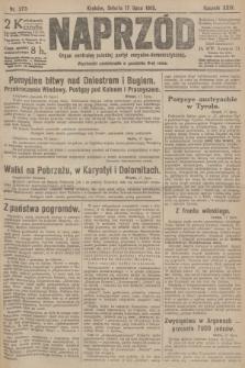 Naprzód : organ centralny polskiej partyi socyalno-demokratycznej. 1915, nr 273