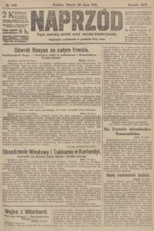 Naprzód : organ centralny polskiej partyi socyalno-demokratycznej. 1915, nr 276