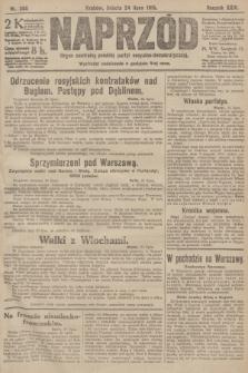 Naprzód : organ centralny polskiej partyi socyalno-demokratycznej. 1915, nr 280