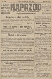 Naprzód : organ centralny polskiej partyi socyalno-demokratycznej. 1915, nr 285