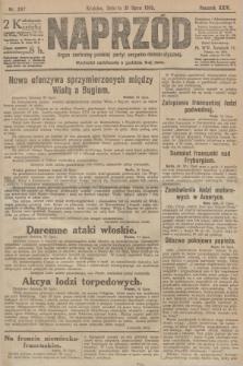 Naprzód : organ centralny polskiej partyi socyalno-demokratycznej. 1915, nr 287