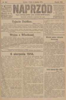 Naprzód : organ centralny polskiej partyi socyalno-demokratycznej. 1915, nr 293