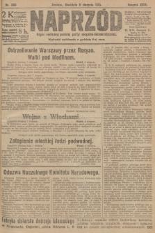 Naprzód : organ centralny polskiej partyi socyalno-demokratycznej. 1915, nr 295
