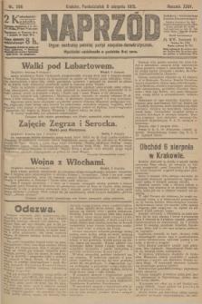Naprzód : organ centralny polskiej partyi socyalno-demokratycznej. 1915, nr 296