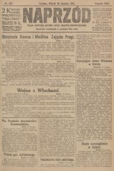Naprzód : organ centralny polskiej partyi socyalno-demokratycznej. 1915, nr 297