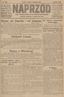 Naprzód : organ centralny polskiej partyi socyalno-demokratycznej. 1915, nr 298