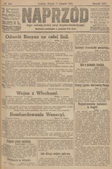 Naprzód : organ centralny polskiej partyi socyalno-demokratycznej. 1915, nr 304