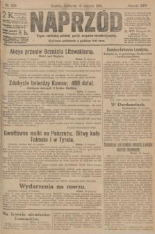 Naprzód : organ centralny polskiej partyi socyalno-demokratycznej. 1915, nr 306