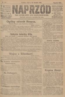 Naprzód : organ centralny polskiej partyi socyalno-demokratycznej. 1915, nr 315