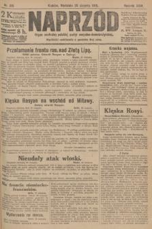 Naprzód : organ centralny polskiej partyi socyalno-demokratycznej. 1915, nr 316