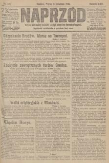 Naprzód : organ centralny polskiej partyi socyalno-demokratycznej. 1915, nr 321