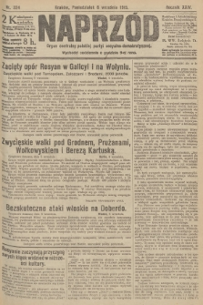 Naprzód : organ centralny polskiej partyi socyalno-demokratycznej. 1915, nr 324