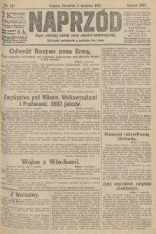 Naprzód : organ centralny polskiej partyi socyalno-demokratycznej. 1915, nr 327