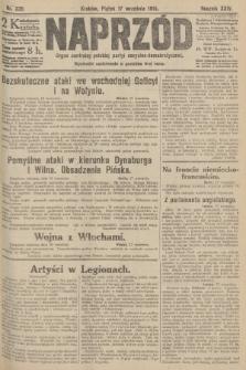 Naprzód : organ centralny polskiej partyi socyalno-demokratycznej. 1915, nr 335